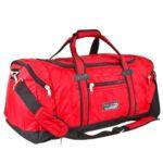 Спортивные сумки на Садоводе купить оптом и в розницу, Красная сумка