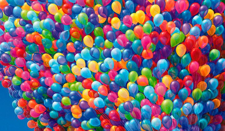 Воздушные шары на Садоводе купить (рынок в Москве). Диско шар